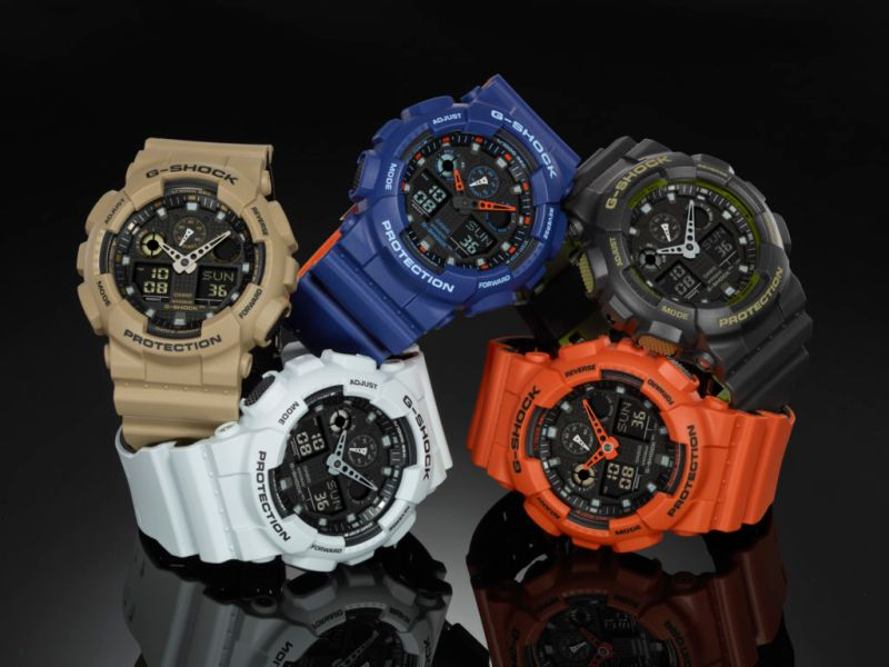 GA100L Military Color Series, nueva colección de relojes G-Shock - ga-100l-_1-800x600