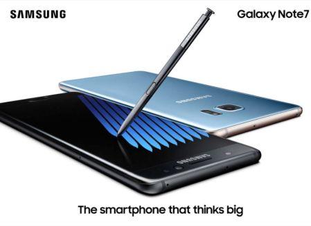 Samsung conquista a su país natal con el Galaxy Note 7