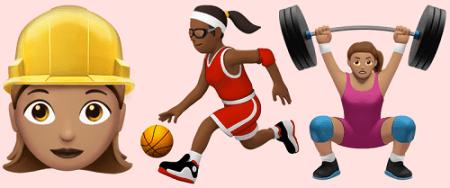 iOS 10 incluirá emojis que promueven la igualdad de género