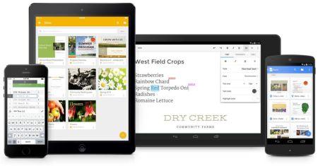 Google Docs para iPad mejora con su nueva actualización