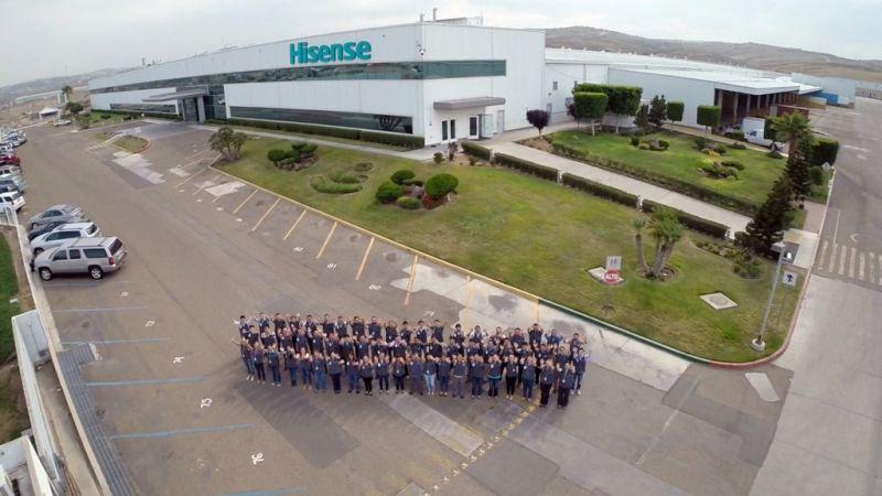 Hisense apuesta por la producción de pantallas en el territorio mexicano - hisense-planta-mx-800x450