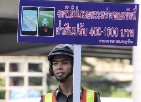 """Crean la """"Policía Pokémon GO"""" en Tailandia"""