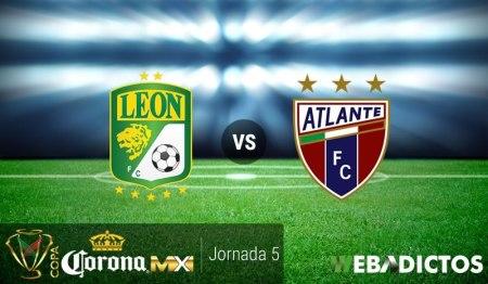 León vs Atlante, Jornada 5 de la Copa MX A2016 ¡En vivo por internet!