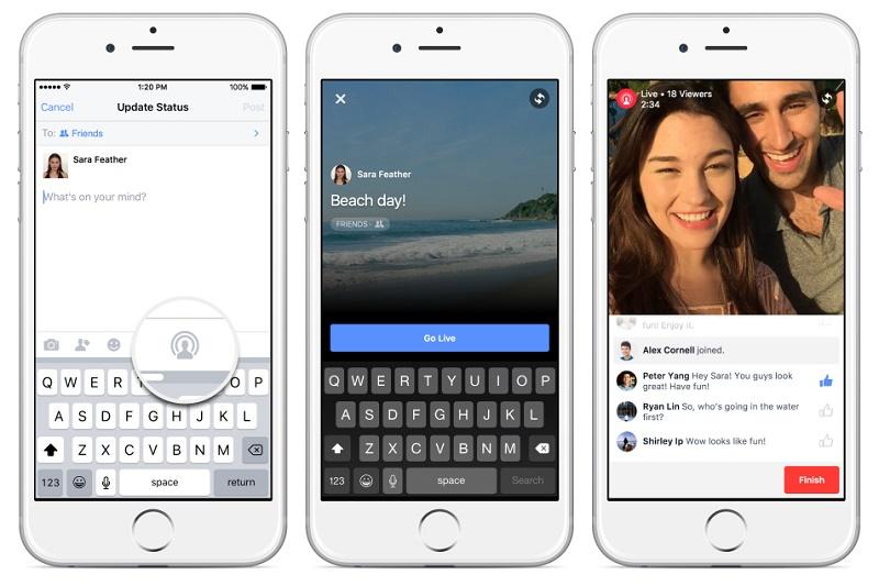 Facebook Live permitirá transmitir en vivo a dos cámaras - live-800x533