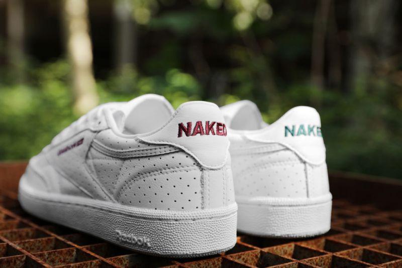 Presentan los nuevos Reebok Club C 85 x Naked - naked-x-reebok-club-c-85-3-800x534