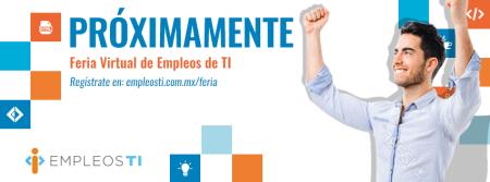 Feria Virtual de Empleos especializada en tecnología, México y USA