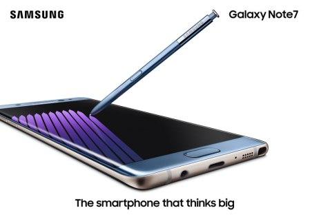 Inicia la preventa del Galaxy Note 7 en línea