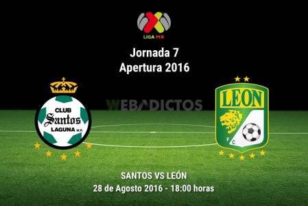 Santos vs León, Jornada 7 del Apertura 2016 | Resultado: 1-0
