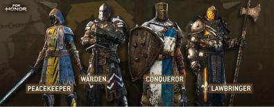 For Honor revela su alineación completa de héroes y modos multijugador - ubisoft-for-honor-1_knights