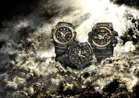 G-SHOCK presenta su nueva colección Vintage Black & Gold