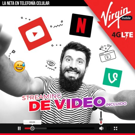 Virgin Mobile incluirá streaming de video en sus datos para nuevos usuarios