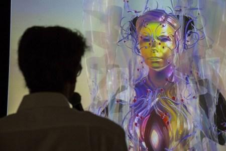 Björk aparece como un holograma en su nueva exposición