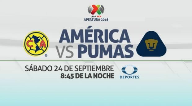 América vs Pumas, clásico capitalino en el A2016   Resultado: 2-1 - america-vs-pumas-en-vivo-j11-apertura-2016
