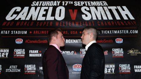 Pelea de Canelo vs Smith este 17 de septiembre ¡Imperdible!