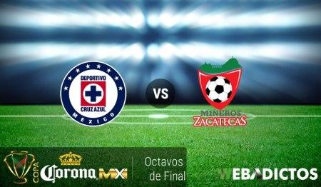 Cruz Azul vs Mineros, Octavos de Copa MX ¡En vivo por internet!