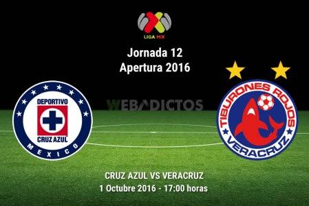 Cruz Azul vs Veracruz, J12 del Apertura 2016 ¡En vivo por internet!