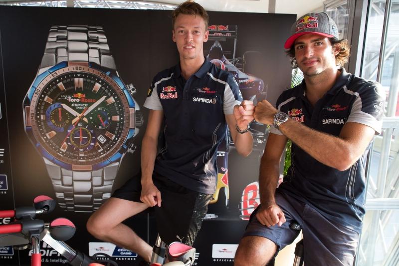 Casio presenta el primer reloj de su asociación con la Scuderia Toro Rosso - edifice_casio_2-800x533