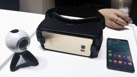 Oculus advierte del peligro de usar un Gear VR con el Galaxy Note 7