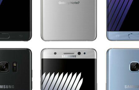 Galaxy Note 7 reemplazados también presentan problemas