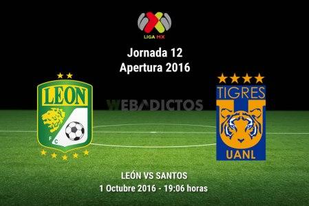 León vs Tigres, Jornada 12 Apertura 2016 ¡En vivo por internet!