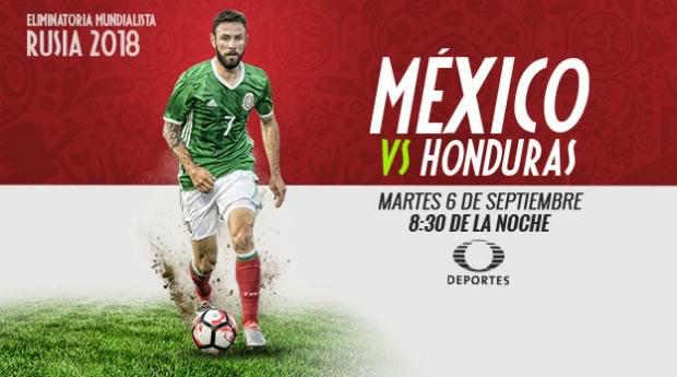 México vs Honduras, eliminatorias Concacaf para Rusia 2018 - mexico-vs-honduras-en-vivo-eliminatorias-concacaf-2016