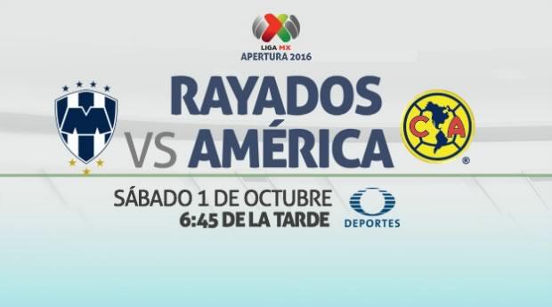 Monterrey vs América, J12 Apertura 2016   Resultado: 1-1 - monterrey-vs-america-en-vivo-j12-apertura-2016