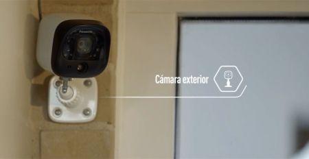 Panasonic Home Network: nuevo sistema de videovigilancia residencial - panasonic-home-network-camara-exterior