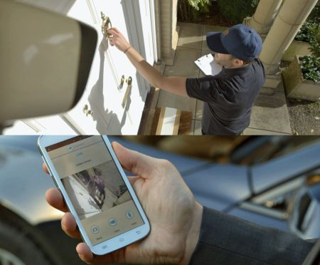 Panasonic Home Network: nuevo sistema de videovigilancia residencial - panasonic-home-network-solucion-monitoreo-camara-exterior