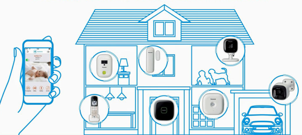 Panasonic Home Network: nuevo sistema de videovigilancia residencial - panasonic-home-network-system