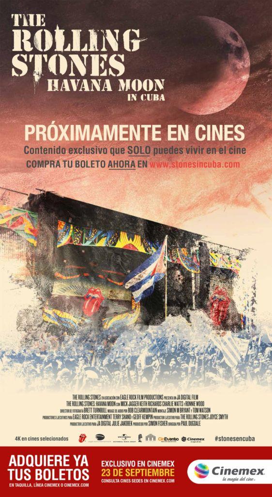 "The Rolling Stones Live ""Havana Moon"" in Cuba en exclusiva en Cinemex - the-rolling-stones-live-in-cuba"