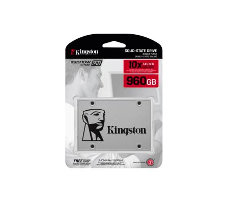 Nueva SSD de Kingston UV400 con capacidad de 960GB