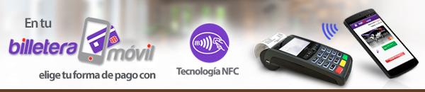Pago vía NFC, llega a México a través de BanBajío y VeriTran - billetera_movil_nfc