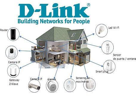 La seguridad, principal razón para modernizar el hogar con dispositivos domóticos - casa-conectada-d-link