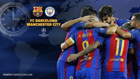 A qué hora juega Barcelona vs Manchester City y canales que los transmiten