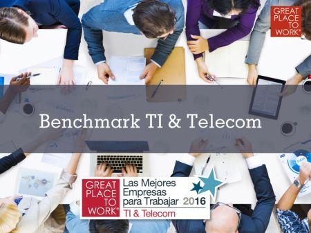 Las mejores empresas para Trabajar en TI & Telecom 2016