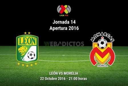 León vs Morelia, Jornada 14 del Apertura 2016 ¡En vivo por internet!