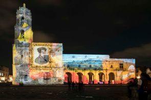 VideoMapping en Morelia: Rescate de espacios públicos y promoción turística - morelia-panasonic024