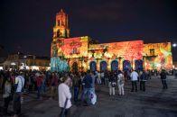 VideoMapping en Morelia: Rescate de espacios públicos y promoción turística - morelia-panasonic094