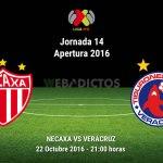 Necaxa vs Veracruz, Jornada 14 de la Liga MX ¡En vivo por internet!   Apertura 2016