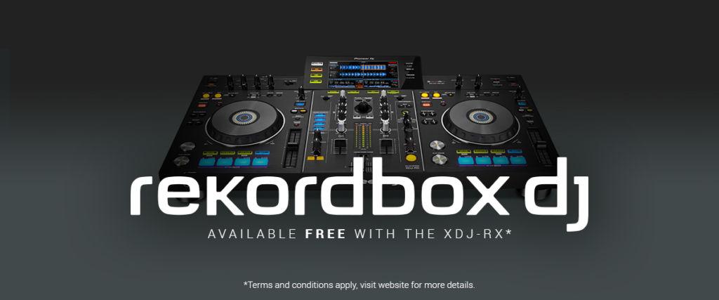 Controlador XDJ-RX de Pioneer incluye gratis el software Rekordbox DJ - pdj_xdj-rx_rekordbox_1200x500