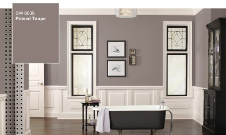 Poised Taupe el color del año 2017; descubre un mundo de color con Sherwin-Williams