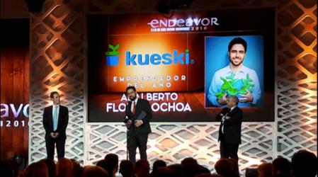 Entregan premio Emprendedor del año en la Gala Endeavor México 2016