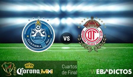 Puebla vs Toluca, Copa MX Apertura 2016 | Resultado: 0-2