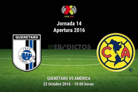 Querétaro vs América, J14 de la Liga MX ¡En vivo por internet! | A2016