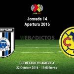 Querétaro vs América, J14 de la Liga MX ¡En vivo por internet!   A2016