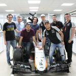 "Claro video y Nat Geo presentan la serie ""Superautos: Sahara Force India"" - shooting-crew-with-andy-otmar-and-pilots"