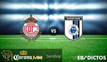 Toluca vs Querétaro, Semifinal de Copa MX Apertura 2016 | Resultado: 0-0
