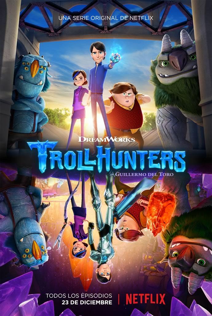 Trollhunters de Guillermo del Toro ya tiene fecha de estreno en Netflix - trollhunters