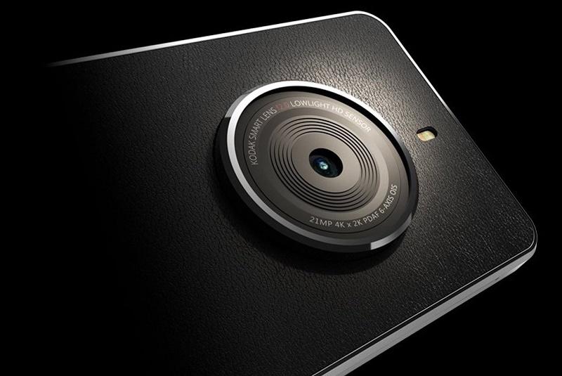 Kodak se pone clásico con el lanzamiento de su nuevo teléfono