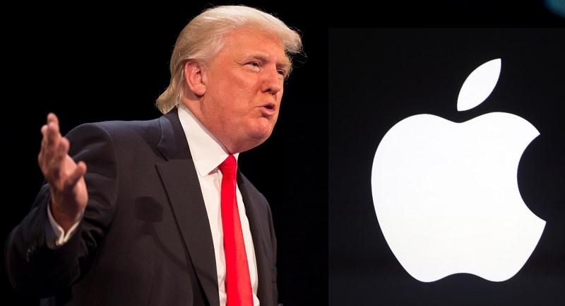 Trump quiere que Apple fabrique sus productos en EE.UU. - donald-trump-opina-sobre-apple-copia-800x433